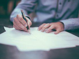 Граждански договор, Подаване на декларация по чл.15
