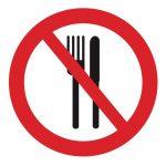 Забраняващ знак, Знак забранено храненето