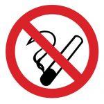 Забраняващ знак, Знак забранено пушенето, Пушенето забранено