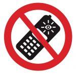 Забраняващ знак, Знак забранено ползването на камера на телефона