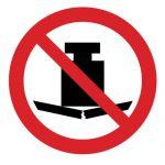 Забраняващ знак, Знак забранено за тежки предмети
