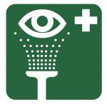 Знак за първа помощ - очен душ
