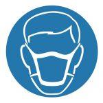 Задължаващ знак, Задължително използвай маска