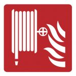 Знак за пожарна безопасност - пожарен хидрант