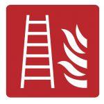 Знак за пожарна безопасност - стълба