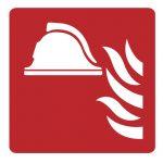 Знак за пожарна безопасност - противопожарно оборудване