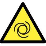 Предупредителен знак, Знак внимание автоматично стартиране