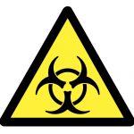 Предупредителен знак, Знак внимание биологичен риск