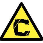 Предупредителен знак, Знак внимание канцерогенни материали