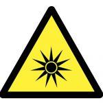 Предупредителен знак, Знак внимание лазерно лъчение