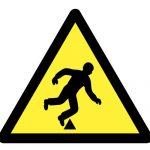 Знак за внимание, Внимание опасност от спъване, Внимание неравна повърхност