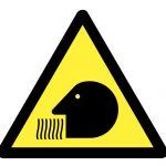 Знак за внимание, Внимание опасност от вдишване на вредни вещества