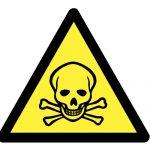 Знак за внимание, Внимание опасност от отровни вещества, Внимание отровно