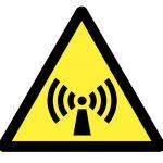 Знак за внимание, Внимание опасност от нейонизиращи лъчения