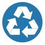 Задължаващ знак, Задължително рециклирай