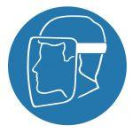 Задължаващ знак, Задължително предпазна маска за лице