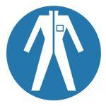 Задължаващ знак, Задължително работно облекло