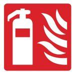 Знак за пожарна безопасност - знак за пожарогасител